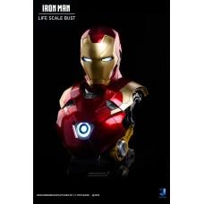 Iron Man Mark 47 Lifesize Bust by 7J Toys Studio