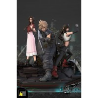 FFVII Remake - Assemble !! Cloud, Aerith, Tifa by F4 STUDIO