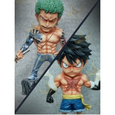 Luffy / Zoro Yakuza ( SD ) by Aking studio