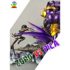 Zoro vs Pica (SD) by JacksDo