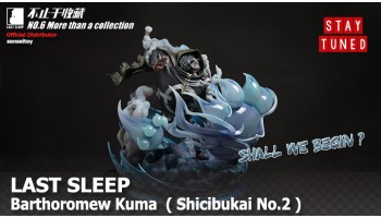 Official revealed Bartholomew Kuma by Last Sleep