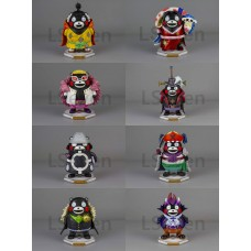 LSeven - Kumamon cos. Shichibukai ( set of 8 )