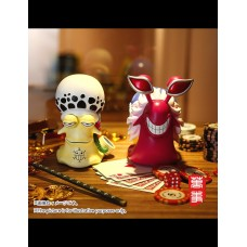 POWERMAX - Den Den Mushi Vol.1 Doflamingo and Law ( set of 2 )