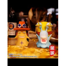 POWERMAX - Den Den Mushi Vol.2 Luffy and Ace ( set of 2 )
