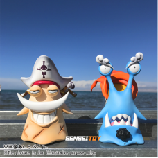 POWERMAX - Den Den Mushi Vol.4  Whitebeard and Jinbei  ( set of 2 )