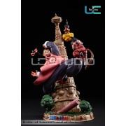 Kid Goku vs Tao Pai Pai Resin Diorama Statue by UCS