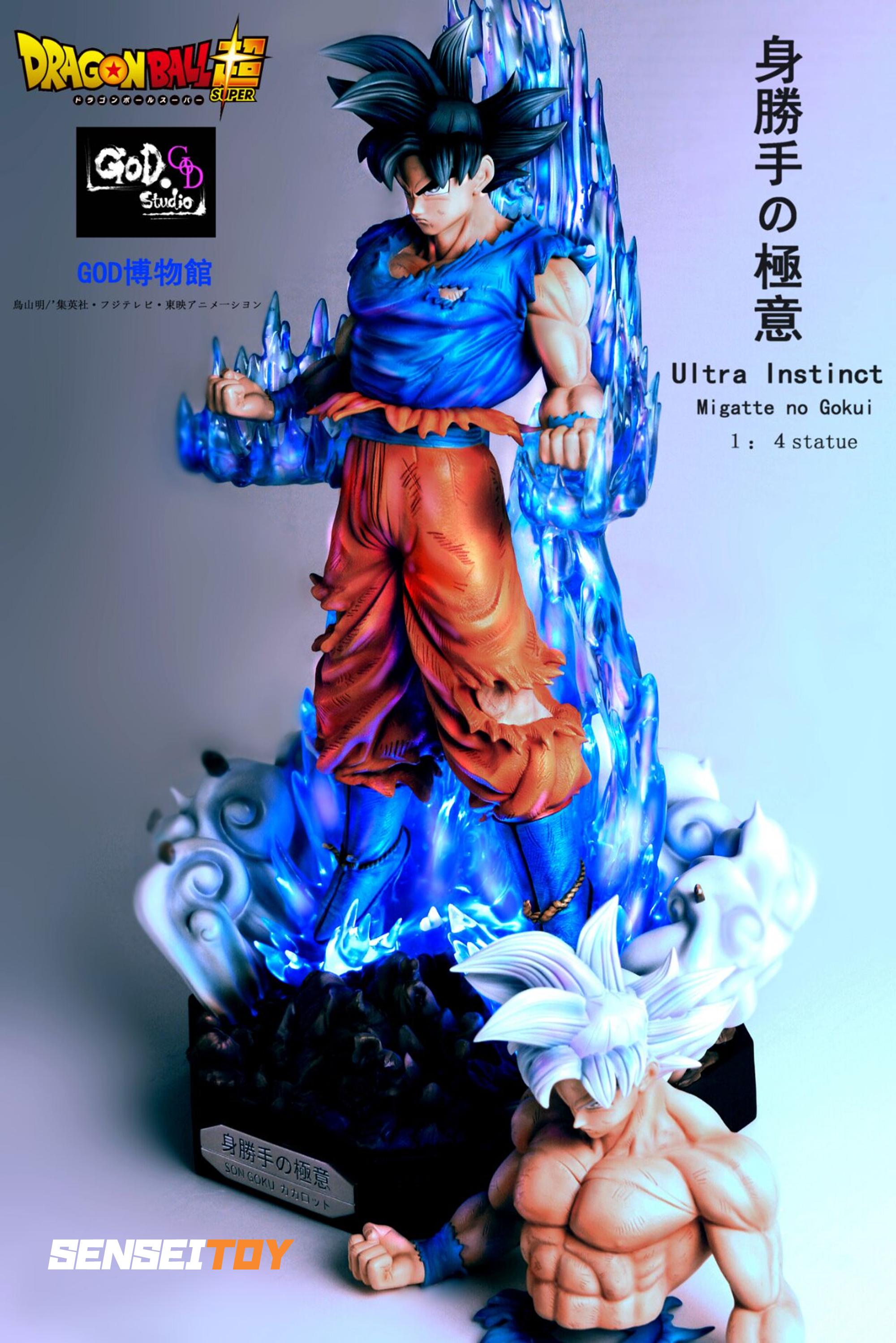 Son Goku Ultra Instinct By God Studio