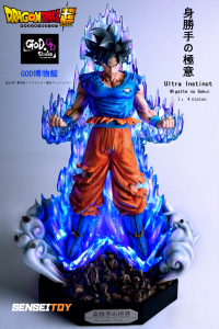 Son Goku Ultra Instinct by GOD studio