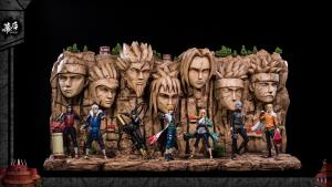 Hokage Rock Diorama by MH studio