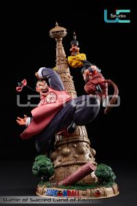 Kid Goku vs Tao Pai Pai Resin Diorama Statue by UCS
