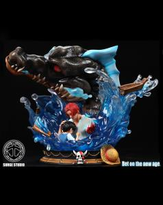 Shanks Save Luffy Resin Statue by SURGE studio