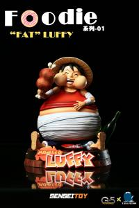 Fat Luffy SD (Foodies Series) by THG x G5 Studio